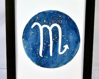 Original Scorpio Zodiac Symbol