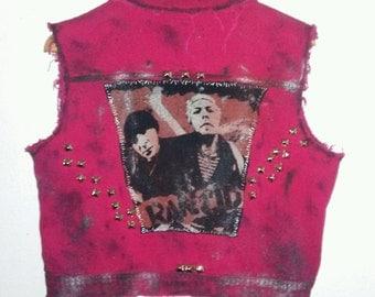 Rancid / Lightweight / Jacket Vest / Punk Rock / Band / Ska / Indie / Rock N Roll / Rocker / Distressed / Unisex / Women / Men / Guys