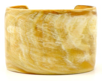Horn Cuff Bracelet