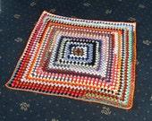SALE BARGAIN crochet lap blanket (ref 356126)