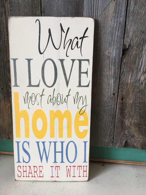 Https Www Etsy Com Listing 114958272 Hand Painted Sign Rustic Home Decor What