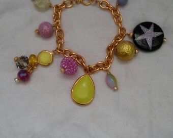 Charm Bracelet Multi Colors
