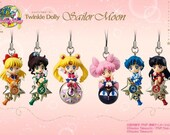 Sailor Moon Twinkle Dolly Phone Charm Made To Order Pick A Character