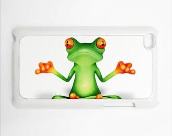 Spiritual Guru Frog Apple iPod Touch 4th Generation Hard Case Original Animal Art (Choose Case Color)