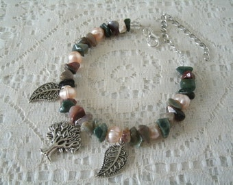 Tree Of Life Bracelet, wiccan jewelry pagan jewelry wicca jewelry celtic jewelry witch witchcraft goddess metaphysical druid handfasting