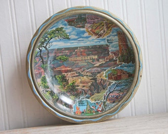 Vintage Grand Canyon Souvenir Tray, National Parks Memorabilia, Arizona Road Trip, Historical Hopi House, Eagle Dancers, Kitsch Grand Canyon