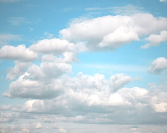 Photography download Cloud photo Sky photography cloudy weather imaginative motivational dreamy blue and white kids room wall decor