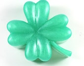 4-Leaf Clover Soap - Shamrock, St. Patrick's Day, Irish, Ireland, Good Luck, Notre Dame, Party Favor, St. Patty's Day, Luck of the Irish