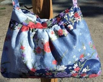 GORGEOUS FLORAL PRINT purse