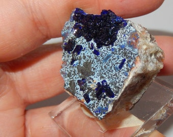 Azurite Crystal cluster