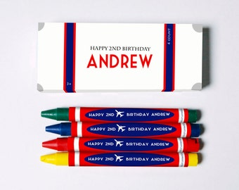 Travel Suitcase Crayon Favors (Great Favors that won't end up in the trash)