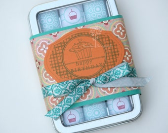 Happy birthday gift idea, friend gift, someone special, chocolate candy gift, nugget tin candy, Hershey nugget tin