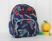 Mini Backpack Backpack Pottery Barn (Mini Size) -- Justice League