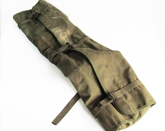 Korean War Era U.S. Army Signal Corps Large Canvas Tool Bag