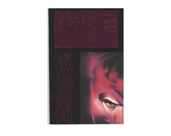 Vintage Magneto: The Twisting of a Soul. Stan Lee. Volume 1 Number 0. September 1993. Comic Book. Marvel Comics. Fine.