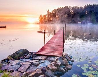 Burntside Lake outside of Ely Minnesota