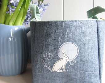 The Hare Linen Basket