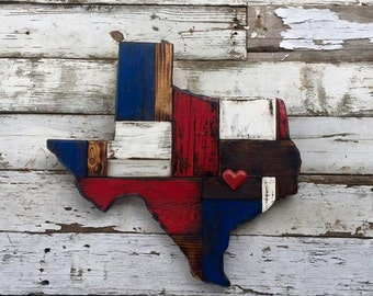 Reclaimed States of Texas