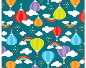 PREORDER One Size Eco-PUL Cloth Diaper Cover Balloons