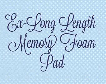 "Ex-Long 60"" Memory Foam Insert Pad for Nap Mat"