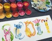 Pokemon Name Painting (custom)