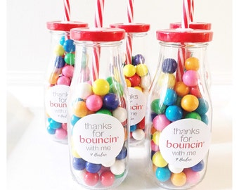 Personalized Bounce Labels (set of 12)