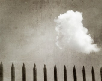 Cloud and Fence