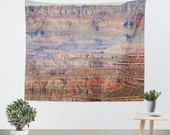 Southwest Tapestry - Wall Hanging - Arizona Tapestry - Nature Tapestry - Grand Canyon - Landscape Tapestry - Dorm Tapestry