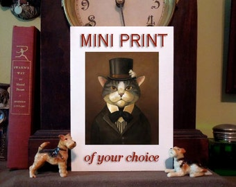 MINI PRINT of any image - Small Collectible Art