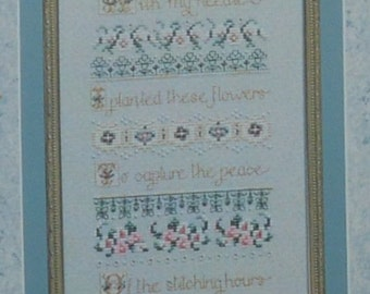 With My Needle – Just Nan JN035 – With Embellishment Pack – Cross Stitch Chart