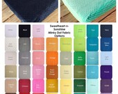Minky Dot Fitted Crib Sheet- YOU PICK from 43 COLORS
