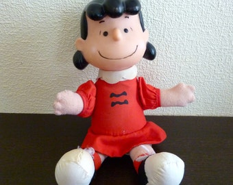 Vintage Lucy Plush Doll - Sold at McDonald in Quebec, Canada