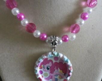 My Little Pony Handmade Beaded Necklace