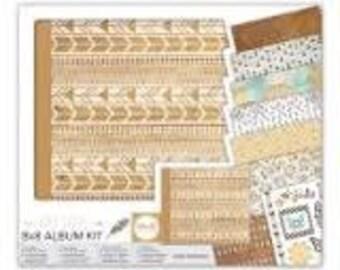 We R Memory Keepers Free Spirit 8x8 Album Kit 62359-5