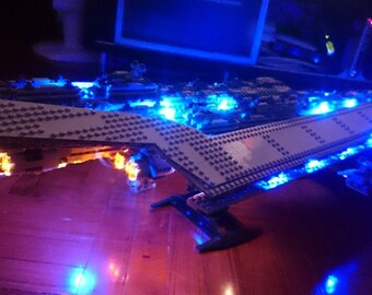 Light up kits for Lego Star Wars 10221 Super Star Destroyer - (Model not included)