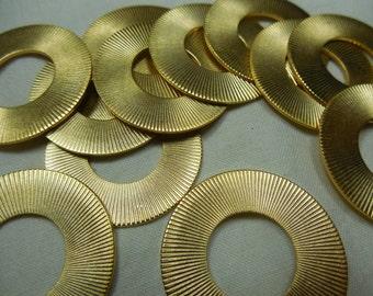 Circle GP Brass Ring