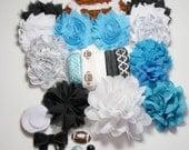 Carolina Panthers Inspired Headband Kit