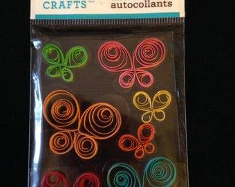 Martha Stewart Crafts  --  Quilled Butterflies -- NEW --   (#1627)