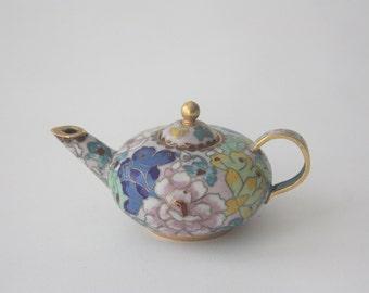 Vintage Cloisonne Teapot
