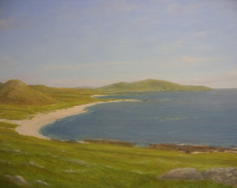 Scotland Isle of Barra Western Isles.....oil painting