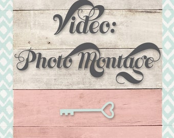 Photo / Video Montage. Custom Slideshow featuring all your edited photos + music