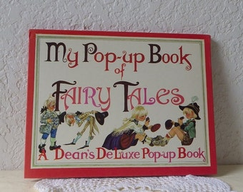 My Pop-up Book of Fairy Tales, Dean's DeLuxe Pop-up Book, 1982