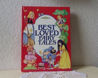 Children's Book: Best Loved Fairy Tales, Hardcover, Like New, 1987