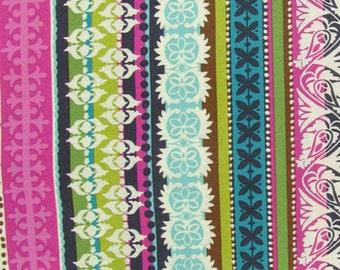 Roco Beat  Stripe  Apparel Quilting  Cotton fabric.