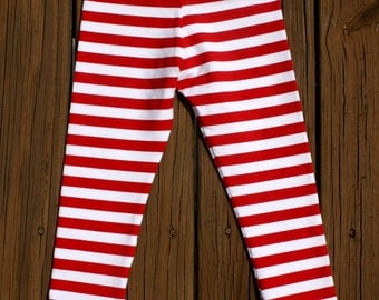 Striped leggings | Etsy