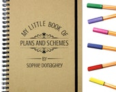 Personalised Gift Notebook|Plans & Schemes Notebook
