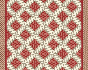 Madame Rouge - Tres Jolie Quilt Pattern by French General