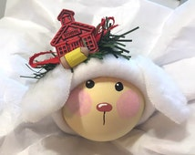 BABY ORNAMENT LAMB  School Pencil Mary Had A Little Lamb Christmas Townsend Custom Gifts Personalize 1st Day of School