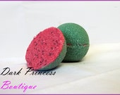 Watermelon fragraced bath bombs