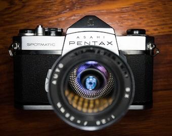 1964 Pentax Spotmatic SP 35mm film camera